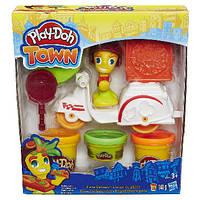 """Play-Doh Town. Набор для творчества с пластилином """"Транспортные средства в ассорт."""" Hasbro"""