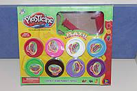 Набор массы для лепки  Plasticine creative  - 8 цветов.