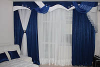 "Ламбрекен+шторы ""Мадрид"", модель №90007"