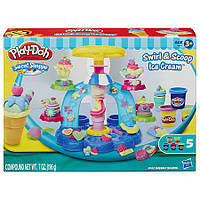 "Play-Doh. Набор для творчества с пластилином ""Фабрика Мороженого"" Hasbro"