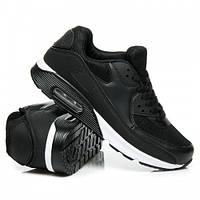 Классические женские черные кроссовки