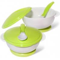 Набор посуды (тарелка на присоске, ложка)