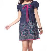 Платье для девочки blue