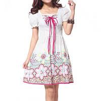 Платье для девочки-подростка white