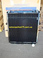 Радиатор  Маз 64229, 54325 4-х рядный, медно-латунный (Шадринский автоагрегатный завод, Россия)