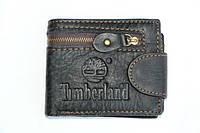 Черный стильный мужской кошелек Timberland