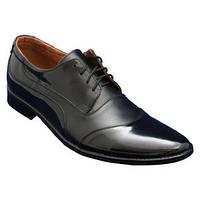 Мужские туфли орыгинал с натуральной кожи + лак