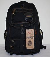 Городской повседневный рюкзак черный