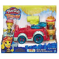 "Play-Doh Town. Набор для творчества с пластилином ""Пожарная машина"" Hasbro"