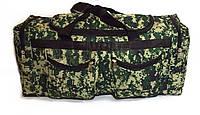 Большая спортивная сумка Камуфляж. Вместительная дорожная сумка. Практичная в использовании. Код: КЕ566