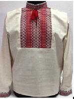 Мужская вышиванка лен