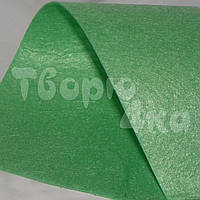 Фетр 15х15 см 1 мм весенней зелени