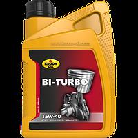 Моторное масло KROON OIL Bi-Turbo 15W-40 минеральное для бензиновых и дизельных моторов 1л KL00215