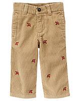 Детские вельветовые брюки для мальчика. 6-12, 12-18 месяцев