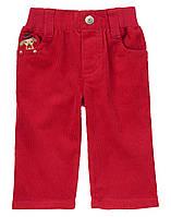 Детские вельветовые брюки для мальчика. 12-18 месяцев