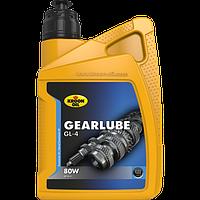 Трансмиссионное масло KROON OIL Gearlube GL-4 80W  для механической коробки передач 1л. KL01209