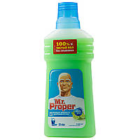 Моющая жидкость Mr. Proper для уборки полов и стен 500 мл лайм- мята