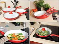 Набор керамических сковородок Keramik Pan Керамик Пан