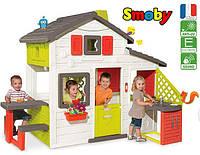 Игровой домик с чердаком и кухней  Smoby  для детей 810201