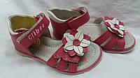 """Детские сандали для девочки """"Clibee цветок"""" (розовые)"""