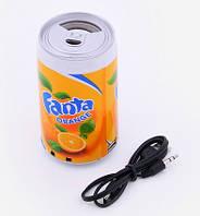MP3-плеер в форме банки банка с напитками проигрыватель