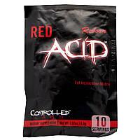 Жиросжигатели Controlled Labs Red Acid Reborn 10капс