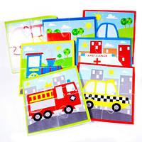 Игровой набор для ванной Пазлы Транспорт (24 дет.)   Набор для ванны Аква пазлы Транспорт   Meadow Kids MK 315