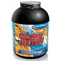 Протеин Сывороточный Ironmaxx 100 % Whey Protein 2350 кг вишневый йогурт
