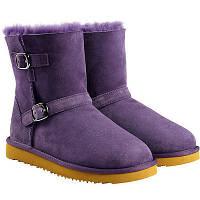 Сапоги - угги детские Kirkland Signature Kids' Shearling Buckle Boot  34 размера (J3)