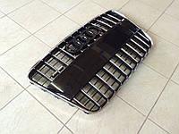 Решетка радиатора S-Line Audi Q7 (черная с хромированной окантовкой)