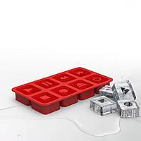 Форма для льда The Chillers Rocketdesign Красная