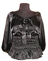 Женская блуза атласная