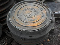 """Люк чавунний каналізаційний середній типу """"С"""" В125 (КВ)"""