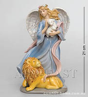 "CMS - 24/ 6 Муз. статуэтка ""Ангел и лев"" (Pavone)"