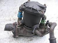 Корпус термостата 9608403488 под 3 датчика на Fiat Scudo, Citroen Jumpy, Peugeot Expert 1.9D, TD год 1995-2007