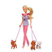 Кукла Steffi Hello Kittiy с Домашними Любимцами Simba 5732786