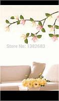 Декоративная наклейка Ветка с цветами сакуры 35*120см.