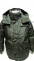 Демисезонная куртка-парка для мальчиков Милитари