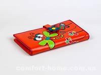 Кошелек с аппликацией Стрекоза Оранжевый, арт. BK-p03812-02