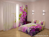 ФотоКомплект Безупречность, шторы + покрывало + наволочки, арт. FRA-60000918
