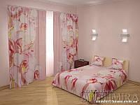 ФотоКомплект Очарование, шторы + покрывало + наволочки, арт. FRA-60000919