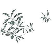 Виниловая Наклейка Glozis на прозрачной основе Olive 70х50 см