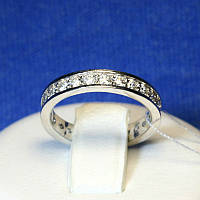 Женское серебряное колечко Дорожка с камнями Невеста 4700-16-р
