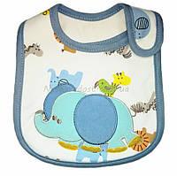 Детский слюнявчик Carter´s Blue elephant