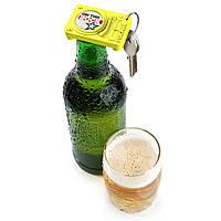 Брелок - открывалка для бутылки Opening Act Rocketdesign Желтый