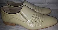 Туфли летние мужск натур кожа p44 MASIS 64b