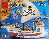 Конструктор детский Brick 304 Пираты