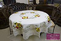 Скатерть льняная с вышивкой Арт. 3057