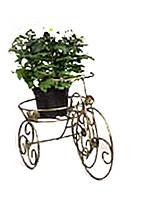 "Кованая подставка для цветов ""Велосипед 1"", мини"
