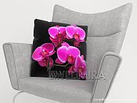 ФотоПодушка Ветка орхидеи, арт. 10 001181
